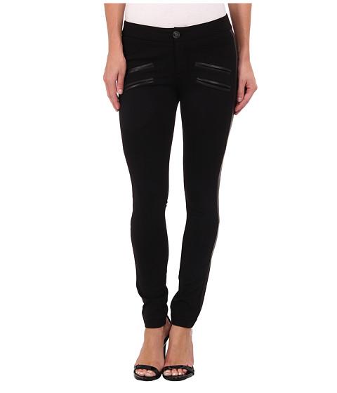 Paige - Justine Pant (Black) Women's Casual Pants