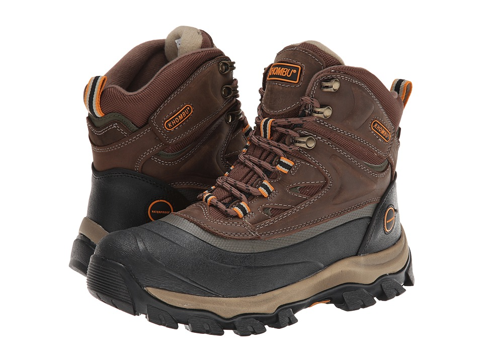 Khombu - Riley (Brown) Men's Boots