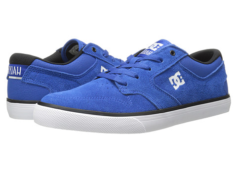 DC - Nyjah Vulc (Nautical Blue) Men's Skate Shoes