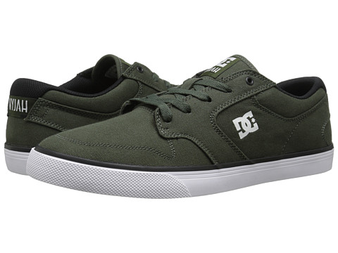 DC - Nyjah Vulc TX (Forest Green/White) Men