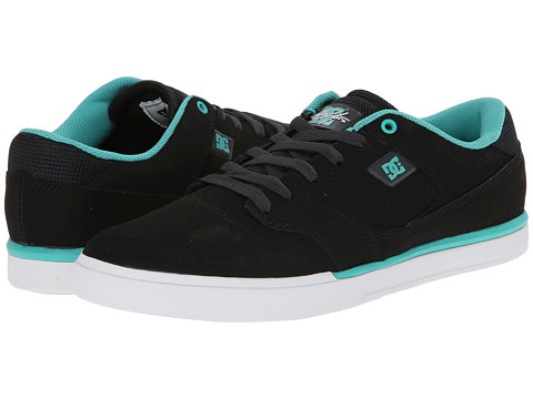 DC - Cole Lite (Black/Aqua) Men