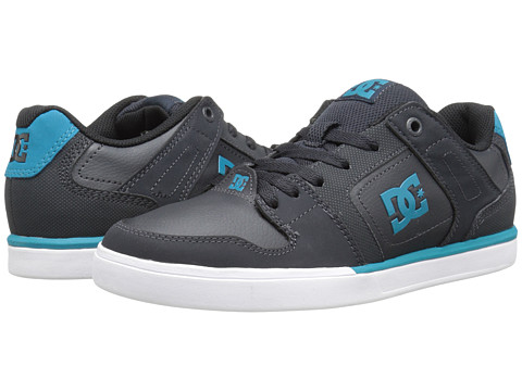 DC - Static (Grey/Blue) Men's Skate Shoes