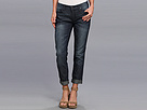 DKNY Jeans Light Weight Rolled Boyfriend in Heritage Wash