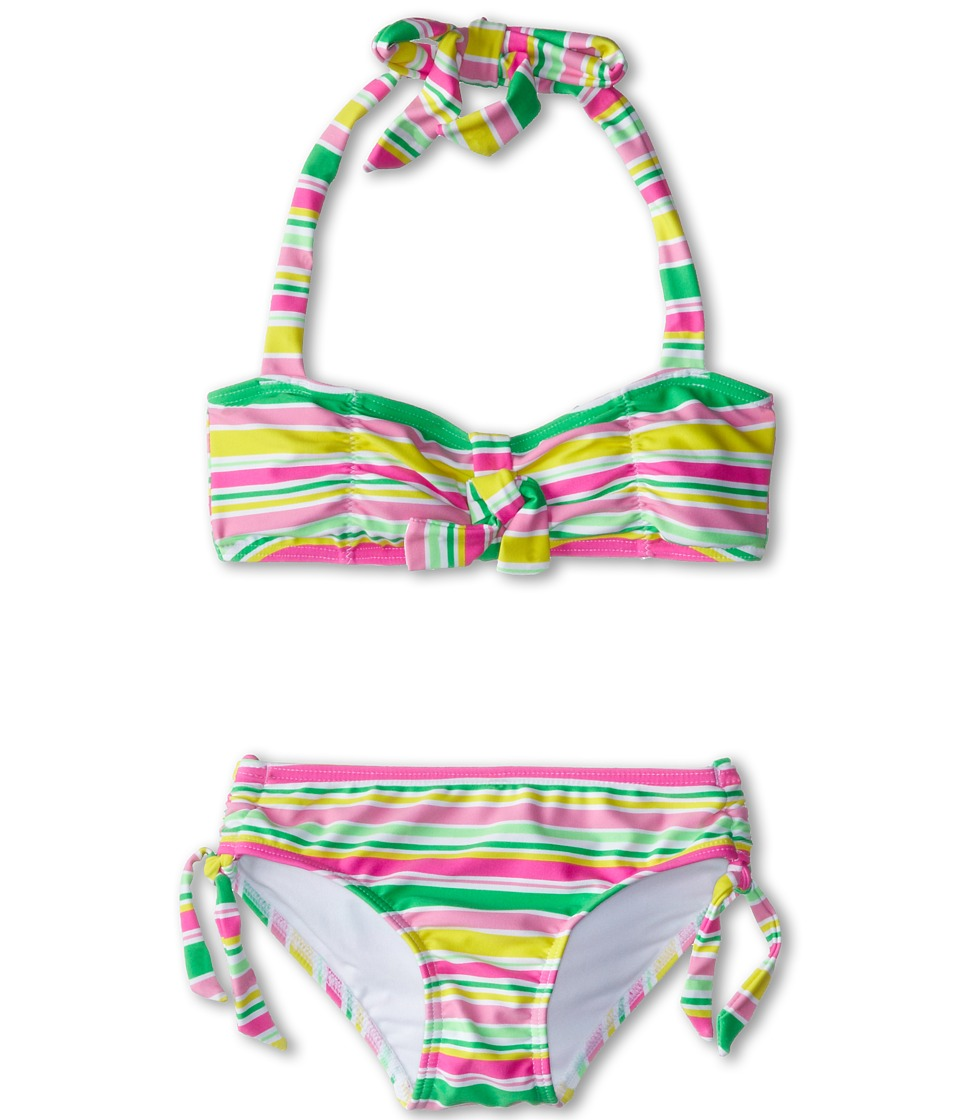 Seafolly Kids - Holiday Mini Tube Bikini (Little Kids/Big Kids) (Multi Stripe) Girl's Swimwear Sets