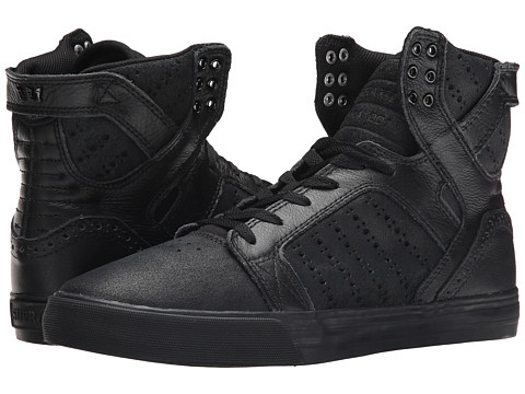 Supra - Skytop (Black/Brogue/Black) Men