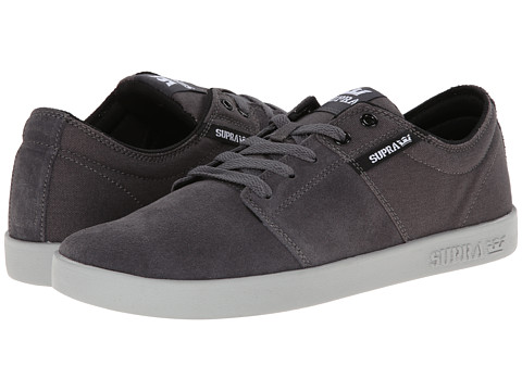 Supra - Stacks II (Grey/Grey) Men's Skate Shoes