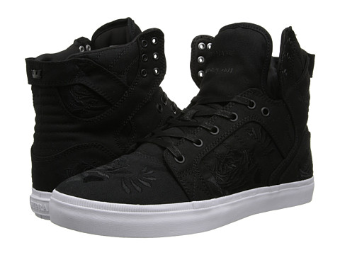 Supra - Skytop LS (Black/Rose/White) Men