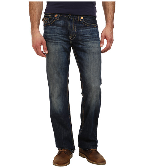 Big Star - Pioneer Relaxed Boot Cut Jeans w/ Faux Flap Pockets in 5 Year Capitola (5 Year Capitola) Men's Jeans
