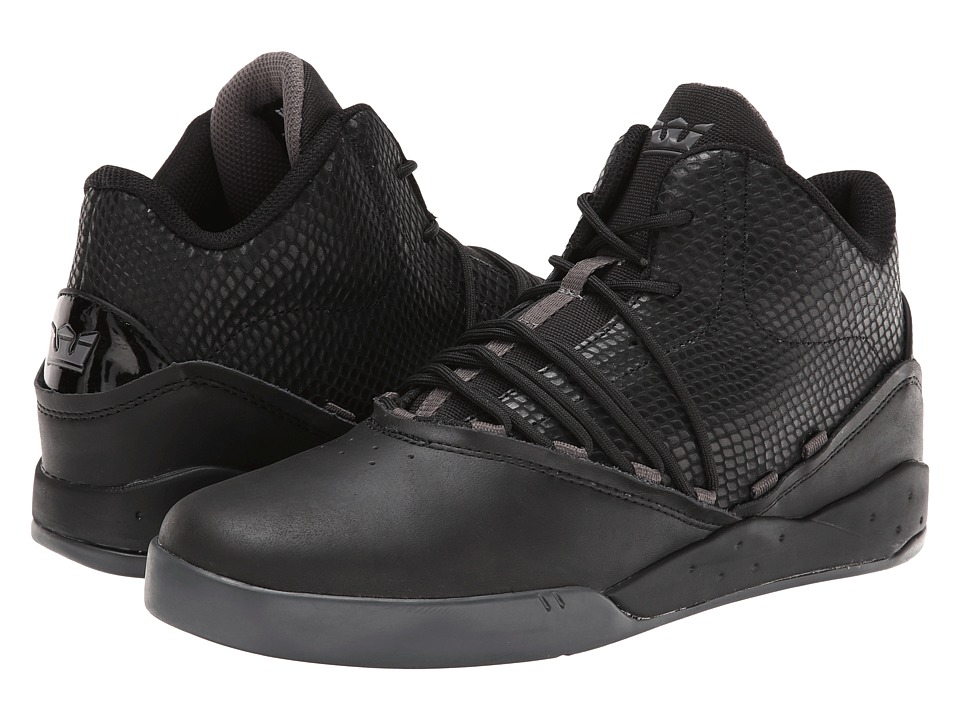 Supra - Estaban (Black/Snake/Black Ice) Men's Skate Shoes