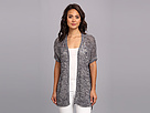 DKNY Jeans Marled Stitch Mix Cardigan
