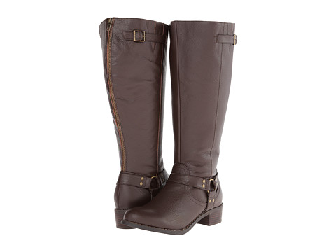 Fitzwell - Hanson Extra Wide Calf (Chocolate Tumble) Women