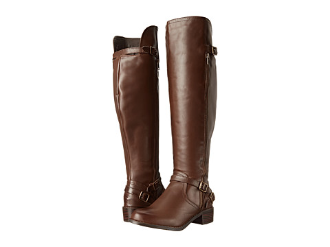 Fitzwell - Princeton Wide Calf (Cocoa) Women's Wide Shaft Boots