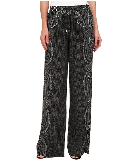 MICHAEL Michael Kors - Easy Wideleg Pant (Black) Women