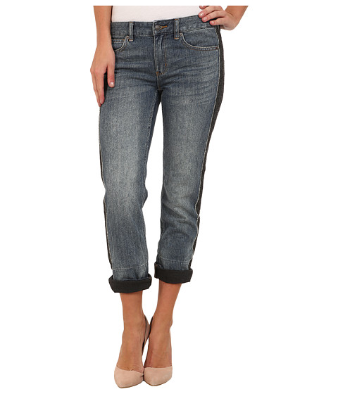 MICHAEL Michael Kors - BF Jeans w/ Side Panel in Medium Vintage Wash (Medium Vintage Wash) Women's Jeans