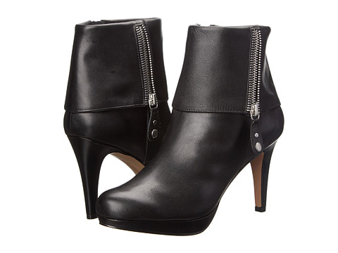Adrienne Vittadini - Poppers (Black Soft Calf) Women's Dress Boots