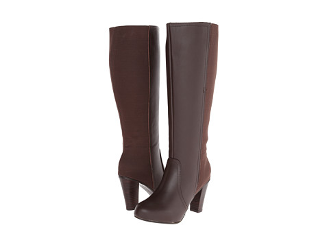 Fitzwell - Monroe (Cocoa) Women's Wide Shaft Boots
