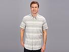 DKNY Jeans S/S Linen Blend Horizontal Stripe Shirt