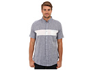 DKNY Jeans S/S Linen Blend Chest Stripe Shirt