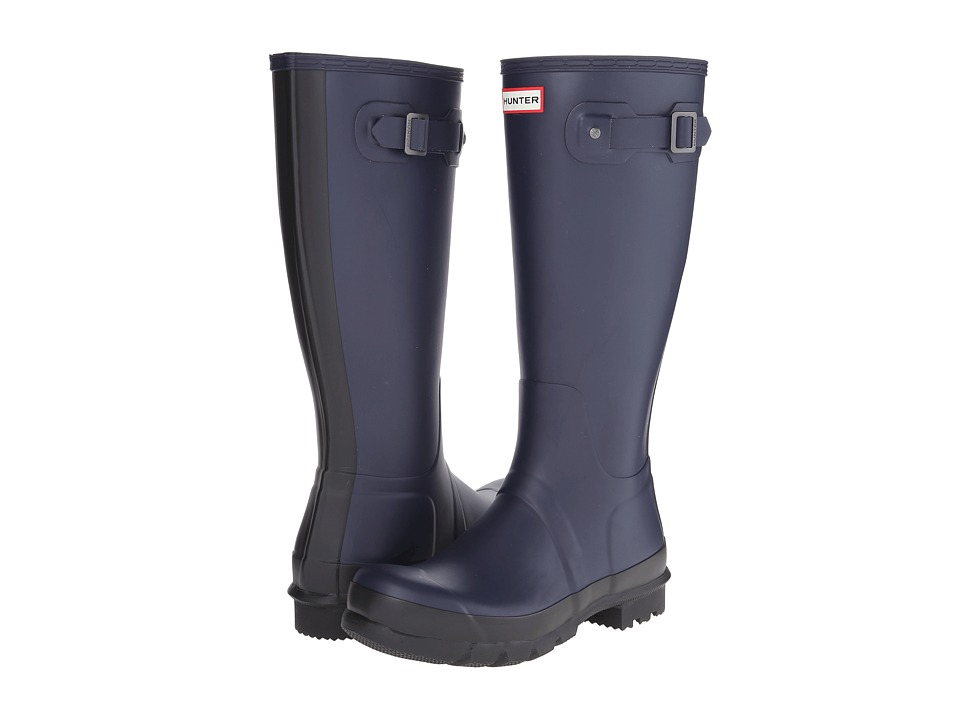 Hunter - Original Two-Tone Tall (Midnight) Men's Rain Boots