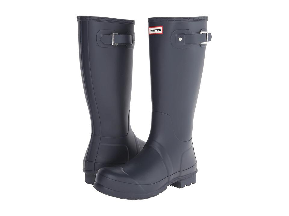 Hunter Original Tall Rain Boots (Navy) Men