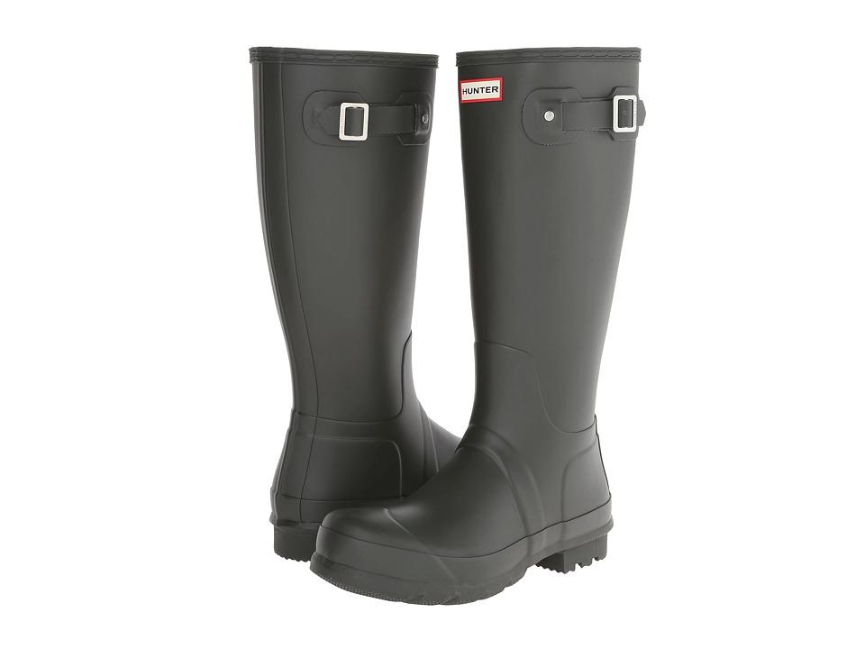 Hunter Original Tall Rain Boots (Dark Olive) Men
