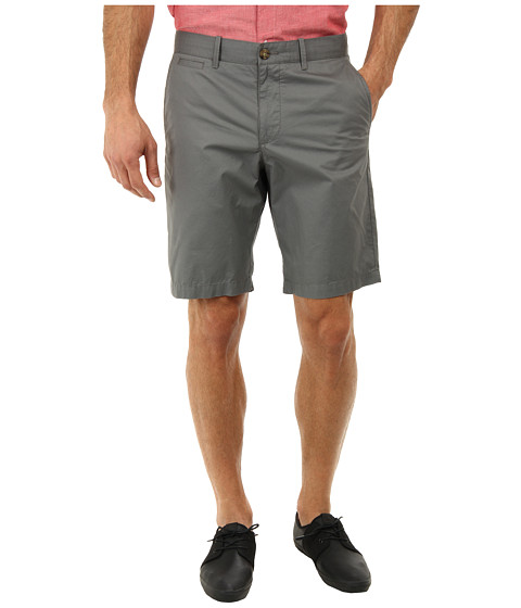 Original Penguin - Basic Flat Front Short (Castlerock) Men's Shorts