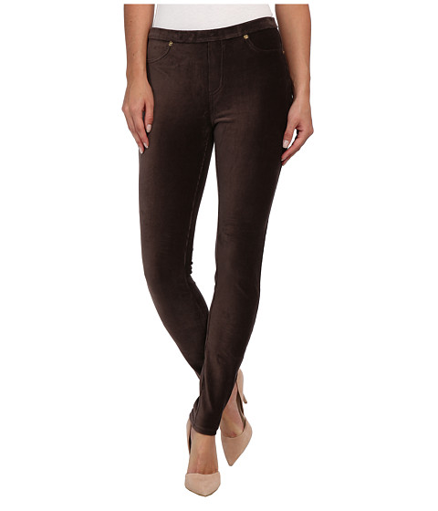 MICHAEL Michael Kors - Stretch Cord Leggings (Chocolate) Women's Casual Pants