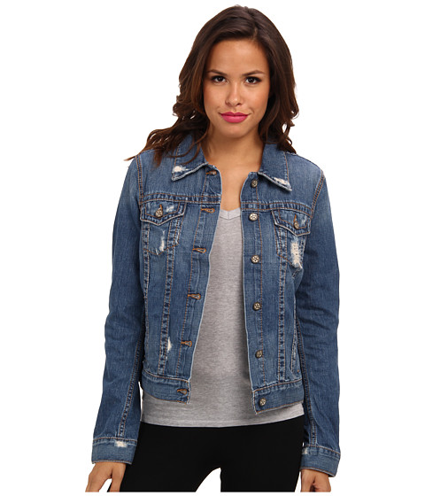 Big Star - Cory Trucker Jean Jacket in Waterford (Waterford) Women's Jacket