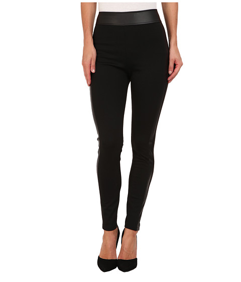 BCBGeneration - High Waist Legging XGN2F582 (Black) Women's Casual Pants