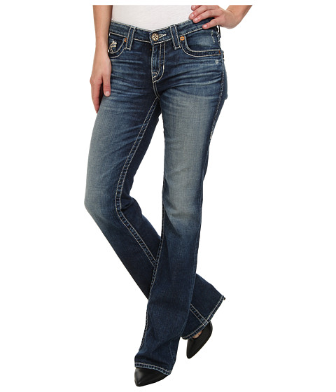 Big Star - Maddie Boot Mid Rise Curvy Fit in 16 Year Bella (16 Year Bella) Women's Jeans