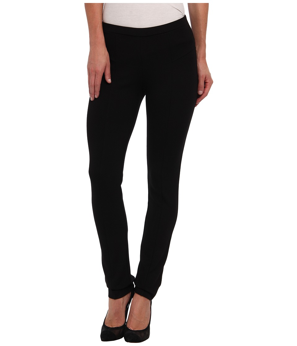 NIC+ZOE - Petite Perfect Ponte Pant (Black Onyx) Women's Casual Pants