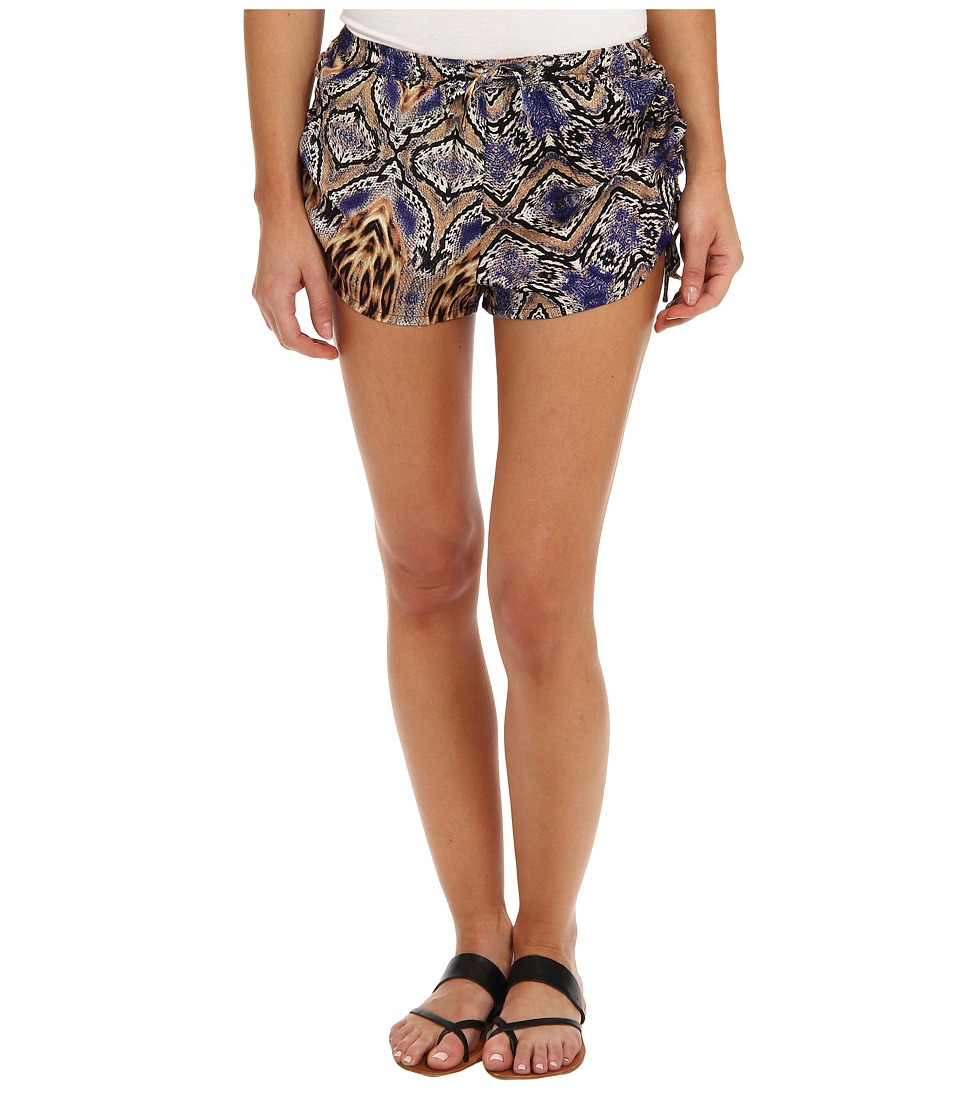 MINKPINK - Animal Flame Shorts (Multi) Women