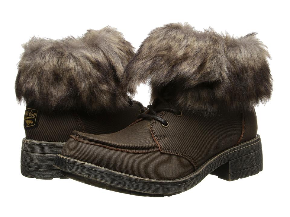 Rocket Dog - Teagan (Brown Ragtag/Matterhorn) Women's Lace-up Boots