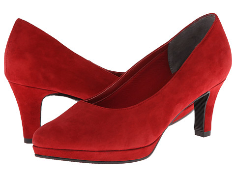 Fitzwell - Pepe (Red Suede) High Heels