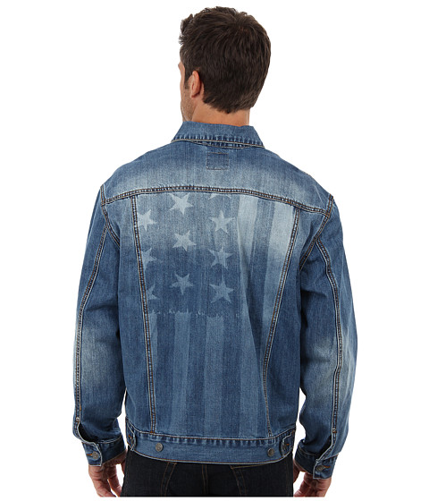 Roper - Vintage Patriotic Jean Jacket (Blue) Men's Jacket