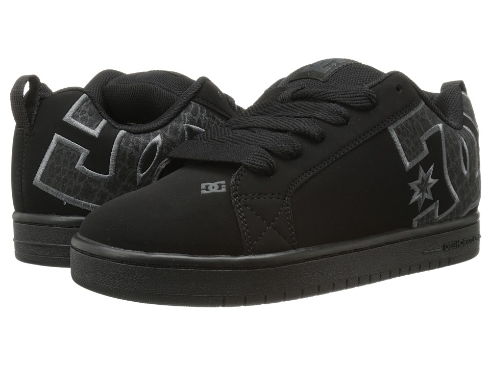 DC - Court Graffik SE (Black/Grey/Black) Men's Skate Shoes