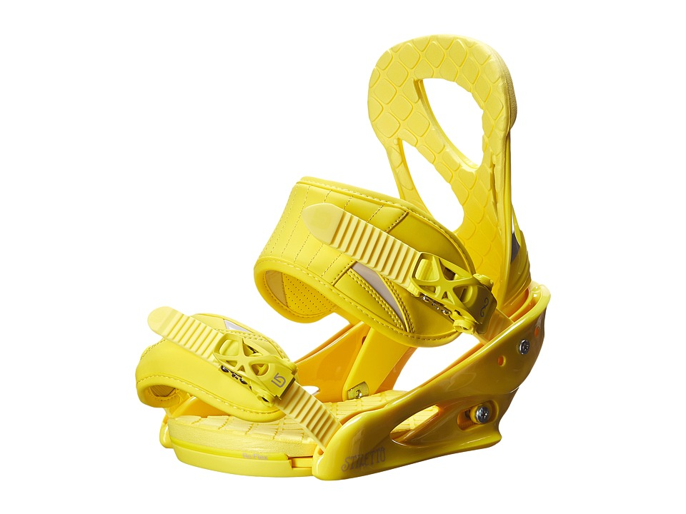 Burton - Stiletto (Yellow) Snowboards Sports Equipment