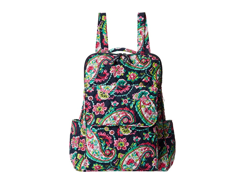 Vera Bradley - Ultimate Backpack (Petal Paisley) Backpack Bags