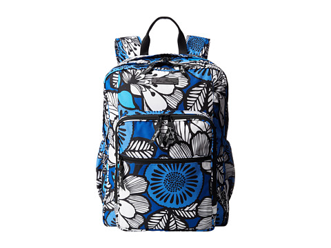 Vera Bradley - Lighten Up Large Backpack (Blue Bayou) Backpack Bags