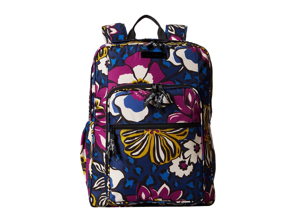 Vera Bradley - Lighten Up Large Backpack (African Violet) Backpack Bags