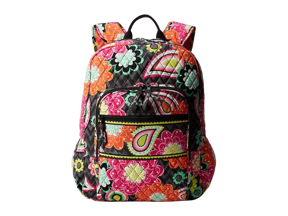 Vera Bradley - Campus Backpack (Ziggy Zinnia) Backpack Bags