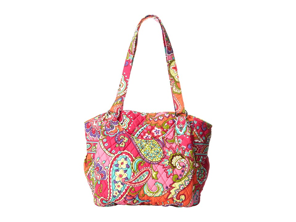Vera Bradley - Glenna (Pink Swirls) Tote Handbags