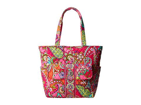 Vera Bradley Tablet Tote (Pink Swirls) Tote Handbags