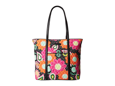 Vera Bradley Luggage - Trimmed Vera (Ziggy Zinnia) Tote Handbags