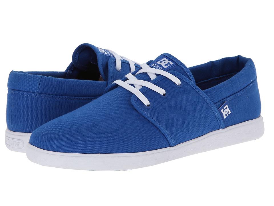 DC - Haven (Blue/White) Men's Skate Shoes