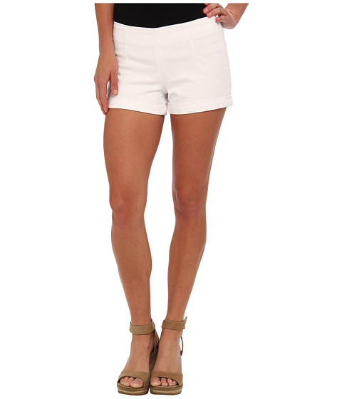 SOLD Design Lab - Bleeker Skins Short (White) Women's Shorts
