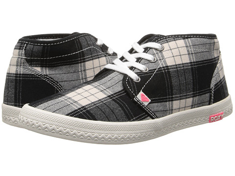 Roxy - Carlsbad (Black/White) Women's Shoes