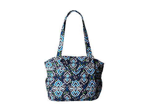 Vera Bradley - Glenna (Ink Blue) Tote Handbags