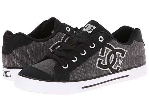 DC - Chelsea TX SE (Black/Metallic Silver/White) Women