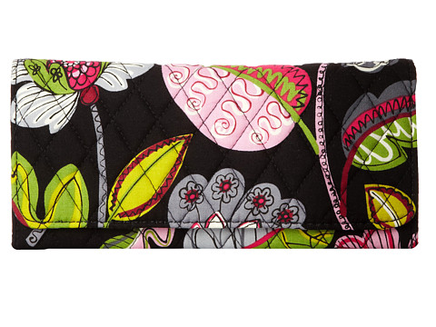 Vera Bradley - Trifold Wallet (Moon Blooms) Wallet Handbags